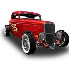 Ford - 1933 Model 40 Sedan by axemangraphics