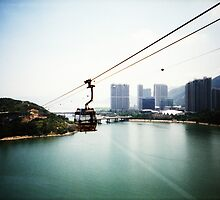 Cable Car Ride - Lomo by Yao Liang Chua
