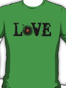 Love Vinyl Records - Grunge Vintage T Shirt T-Shirt
