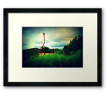 Tropical lane.  Framed Print