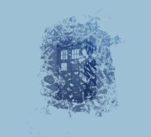 Tardis Shirt by Zozzy-zebra