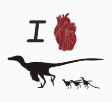 I Love Velociraptor by ChrisMasna