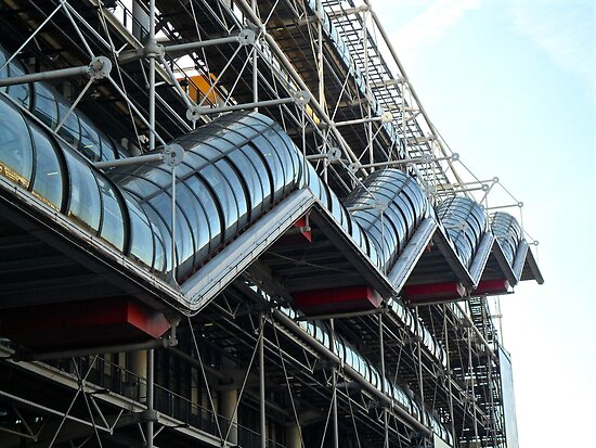 Pompidou Centre by niiicola