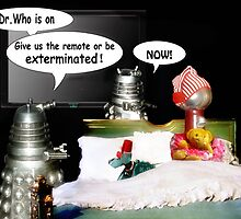 Servo Flirts with Certain Death by Nadya Johnson