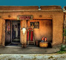 """"""" Morning Talk On Taos Pueblo"""" by Diana Graves Photography"""