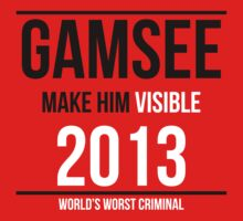 Gamsee 2013 - Official Merch by Purplefridge