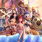 Kingdom Hearts by yipyip