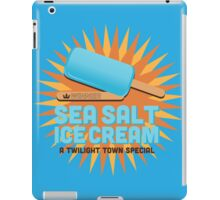 Sea Salt Ice Cream iPad Case/Skin