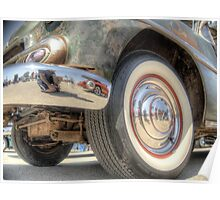 Rusted Classic Hot Rod Poster