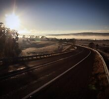 Winter Sunrise, Kings Highway by Tim Coleman
