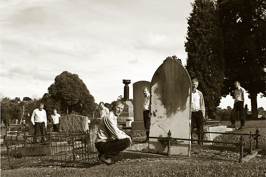 Exploring Lilydale Cemetery by Colin  Ewington