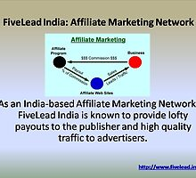 India's top Affiliate Marketing Network - FiveLead Offering loads of opportunities by jaik25