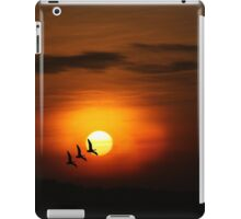 Flying home to roost iPad Case/Skin
