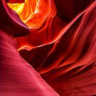 Fiery Colours of The Canyon by Karen Willshaw