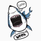 Shark Week! by bambiin