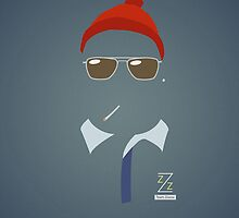 Steve Zissou by JohnMcKeever