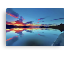 Lomond Dawns Digital Art Canvas Print