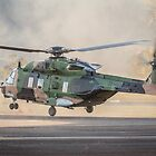 RAN MRH-90 Takeoff by Michael Clarke
