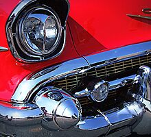 Detail of 1950's Chevrolet by plcimages