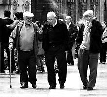 Los Tres Hombres by Berns