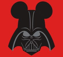 Darth Vader with Mickey Mouse ears by sweetsisters