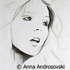 Sketch of a Beauty by Anna Androsovski