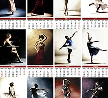 2013 Fine Art Dancer Calendar by Richard Young