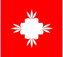 Switzerland cannaflag by mouseman