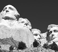 The Presidents of Mount Rushmore by Alex Cassels