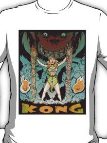 Kong loves cheesecake COLOR T-Shirt