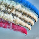 Cookin On Gas !! - The Red Arrows - Duxford 26.05.2013  by Colin J Williams Photography