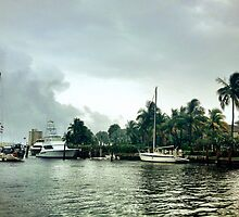 All quiet along the Intracoastal Waterway by Tropical Sun