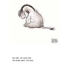 Haiku Eeyore by Renee Bolinger