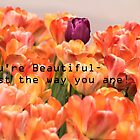 You're Beautiful - Just the way you are! by Cathy Donohoue