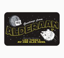 Greetings from Alderaan! STICKER VERSION by RyanAstle