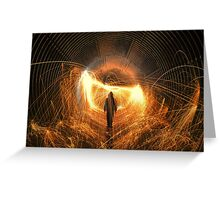 Walk With Me In Hell Greeting Card