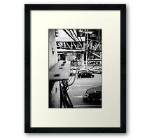 I Spy With My Little Bird's Eye - Lomo Framed Print