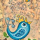JOY by Lisa Frances Judd~QuirkyHappyArt
