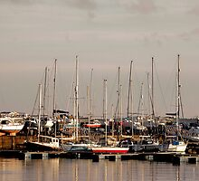 Tayport Harbour, Scotland by Luke Mochan