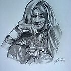Indian Tribal lady by nayana chakraborty