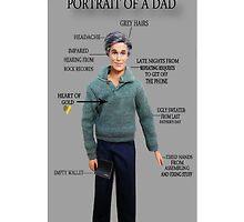 ☝ ☞PORTRAIT OF A DAD IPHONE CASE☝ ☞ by ✿✿ Bonita ✿✿ ђєℓℓσ