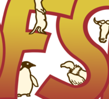 John Finnemores Souvenir Programme Sticker