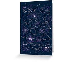 Star Ships Greeting Card