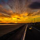 Aberavon Beach - Golden Delight by digihill