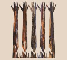 Hand Forest 4 by Richard G Witham