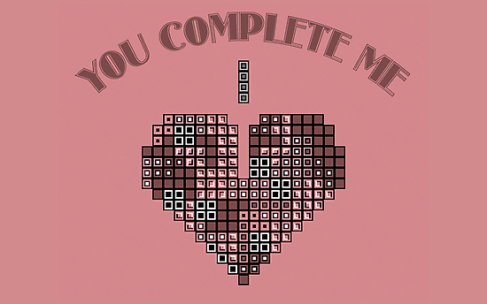 You complete me by Esculor