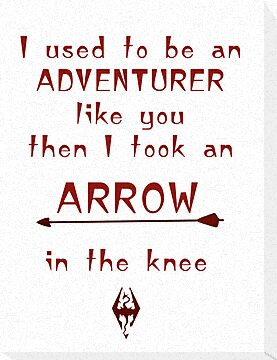 Arrow In The Knee by Lunil