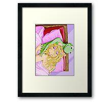 Kermit&Piggy Framed Print