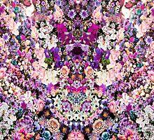 Floral Kaleidoscope by hunnydoll