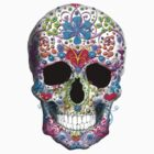 Decorated Skull  by TinaGraphics